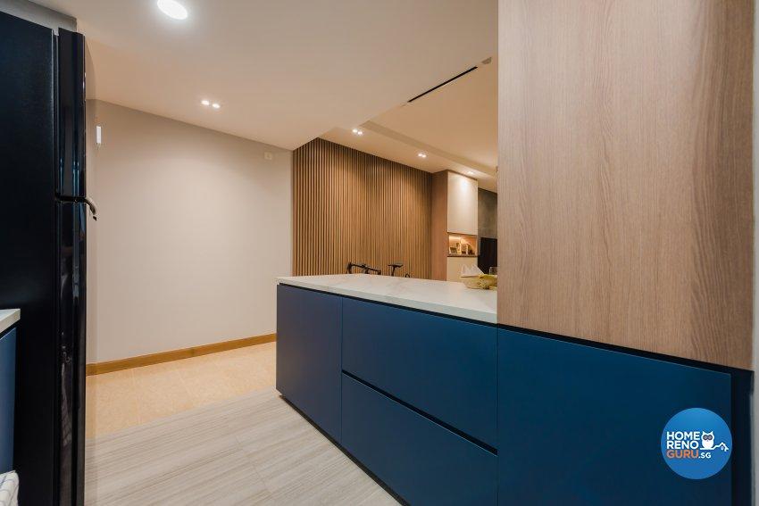 Contemporary, Minimalist, Modern Design - Kitchen - Condominium - Design by DAP Atelier