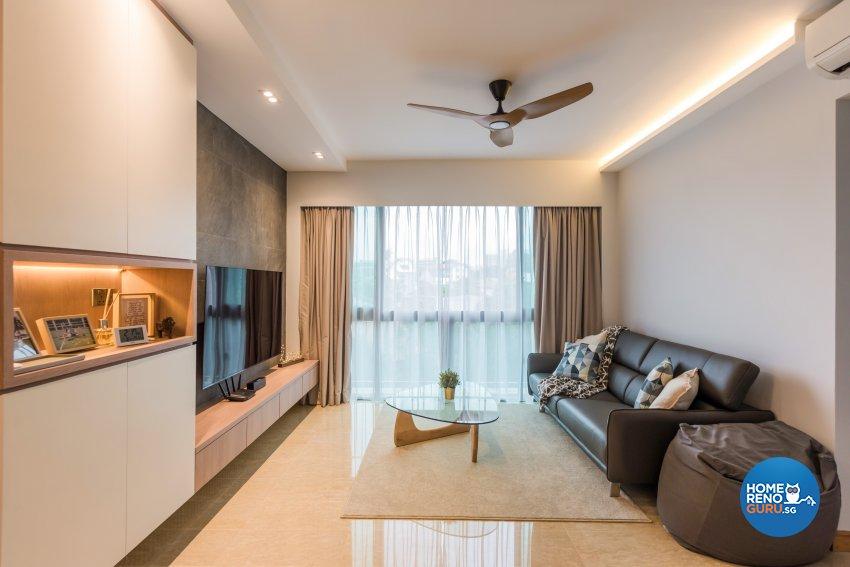 Contemporary, Minimalist, Modern Design - Living Room - Condominium - Design by DAP Atelier