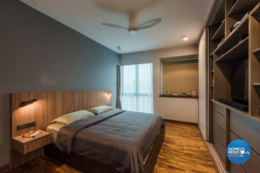 Contemporary, Minimalist, Modern Design - Bedroom - Condominium - Design by DAP Atelier