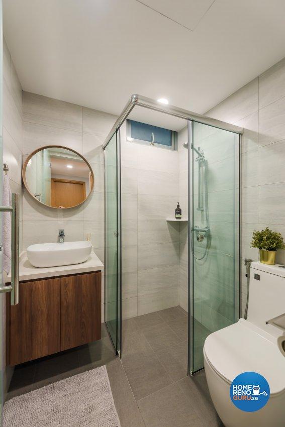 Contemporary, Minimalist, Modern Design - Bathroom - Condominium - Design by DAP Atelier