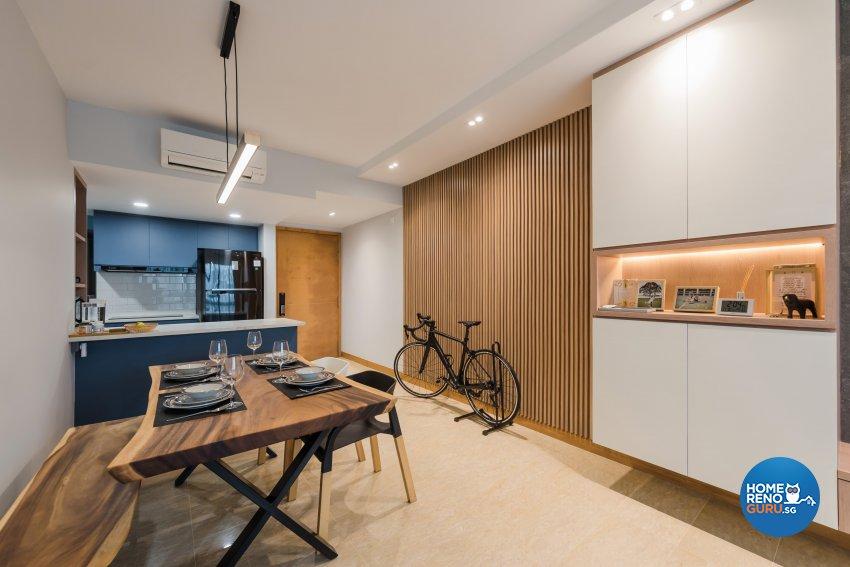 Contemporary, Minimalist, Modern Design - Dining Room - Condominium - Design by DAP Atelier