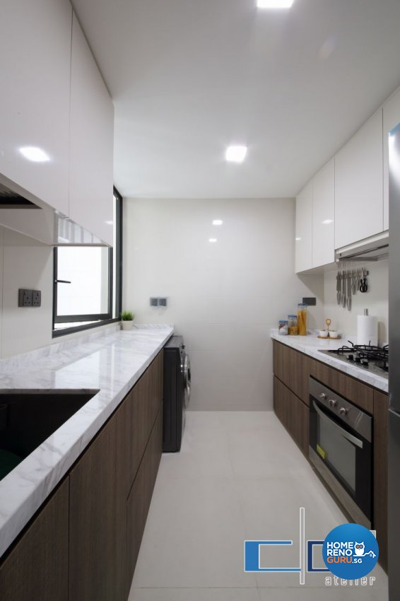 Modern, Resort, Tropical Design - Kitchen - Condominium - Design by DAP Atelier