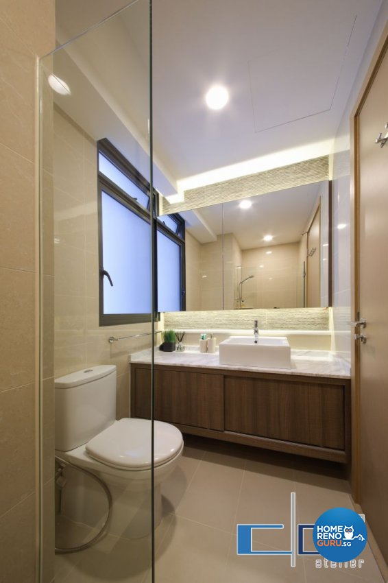 Modern, Resort, Tropical Design - Bathroom - Condominium - Design by DAP Atelier