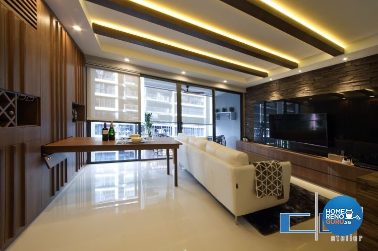 Modern, Resort, Tropical Design - Dining Room - Condominium - Design by DAP Atelier