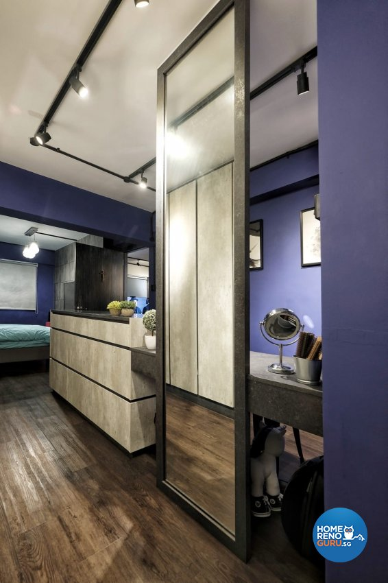 Industrial, Rustic Design - Bedroom - HDB 3 Room - Design by United Team Lifestyle