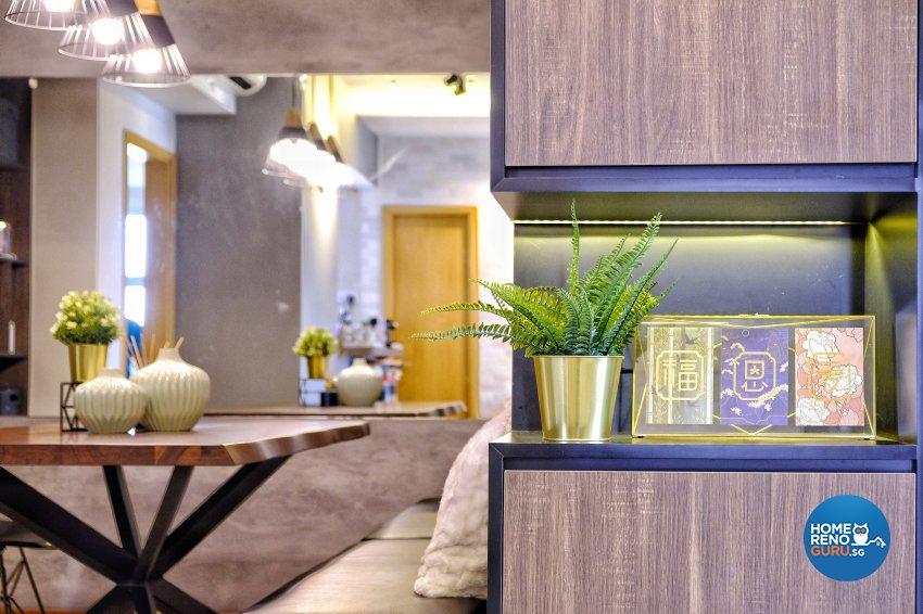 Classical, Contemporary Design - Dining Room - Condominium - Design by United Team Lifestyle