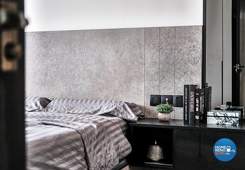 Contemporary, Minimalist, Modern Design - Bedroom - HDB 4 Room - Design by United Team Lifestyle