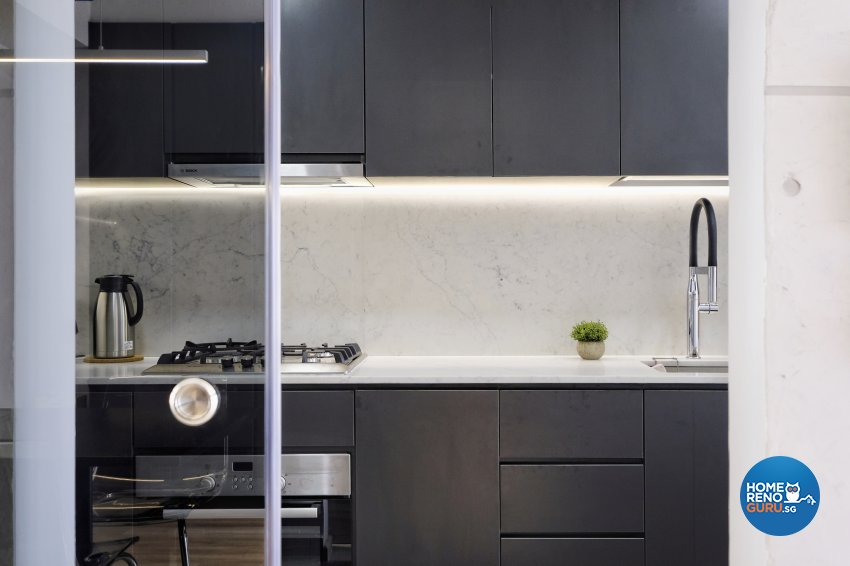 Contemporary, Minimalist Design - Kitchen - Condominium - Design by United Team Lifestyle