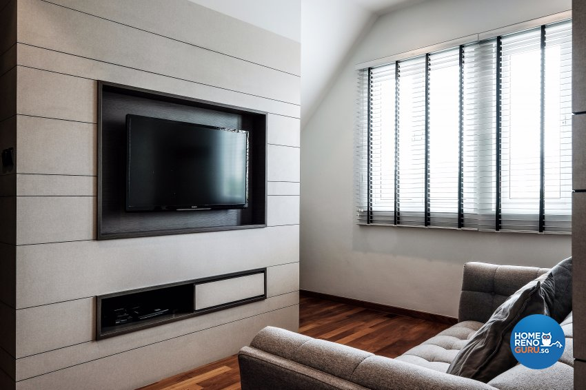 Contemporary, Modern Design - Entertainment Room - Landed House - Design by United Team Lifestyle