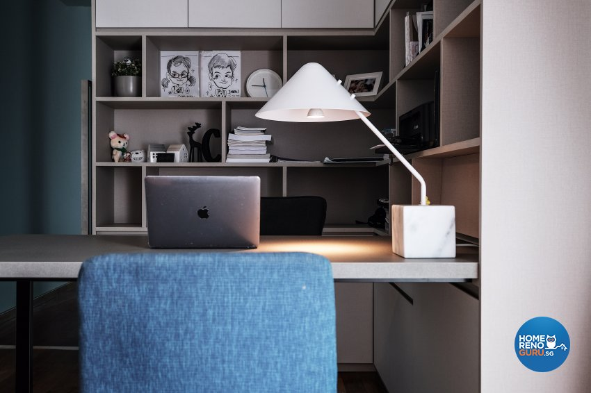 Contemporary, Modern Design - Study Room - Landed House - Design by United Team Lifestyle