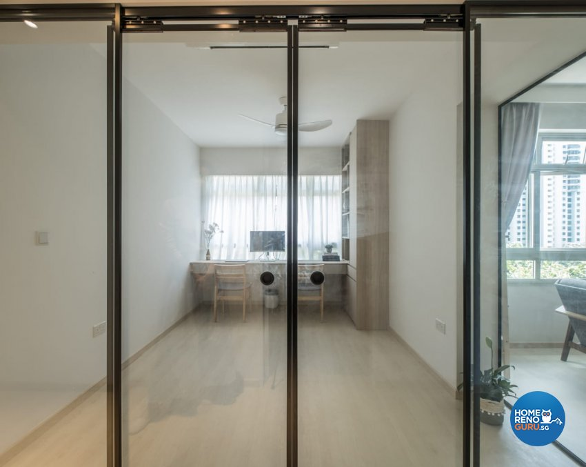 Contemporary, Minimalist, Modern Design - Study Room - HDB 4 Room - Design by United Team Lifestyle