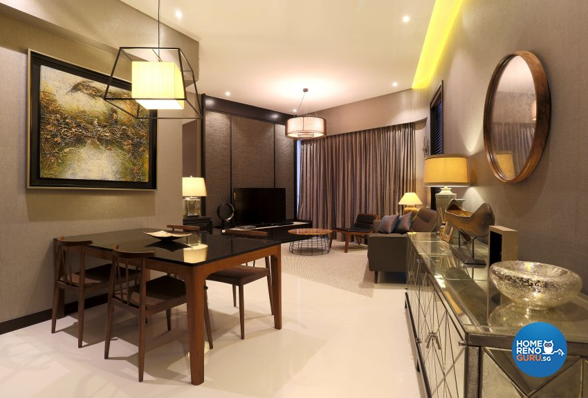 Contemporary, Modern Design - Dining Room - Condominium - Design by United Team Lifestyle