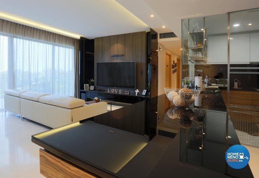 Classical, Contemporary Design - Living Room - Condominium - Design by United Team Lifestyle
