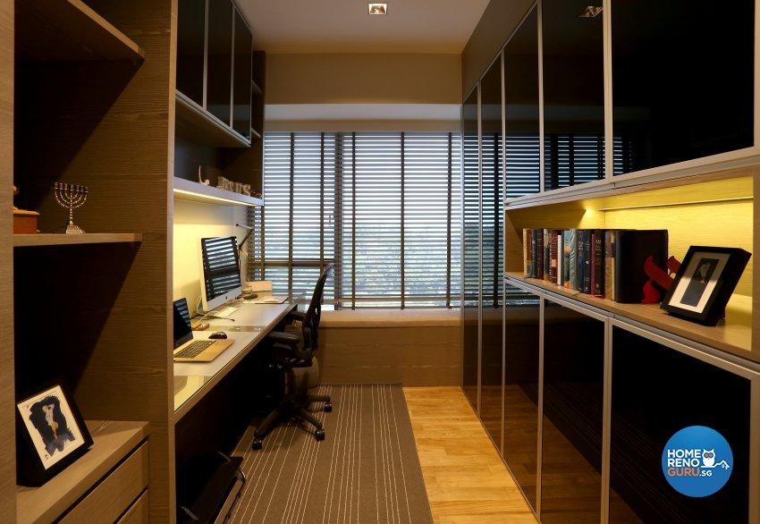 Classical, Contemporary Design - Study Room - Condominium - Design by United Team Lifestyle