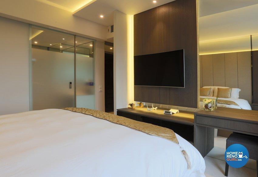 Classical, Contemporary Design - Bedroom - Condominium - Design by United Team Lifestyle