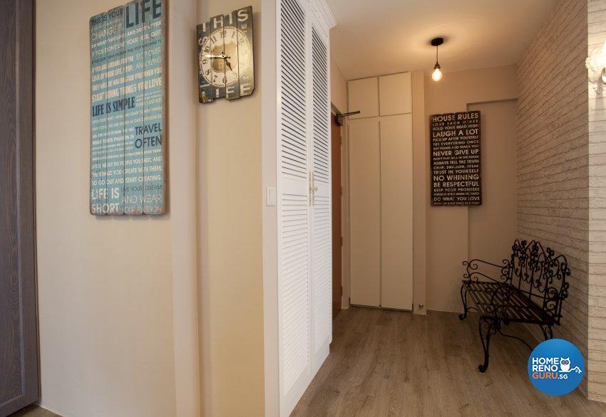 Contemporary, Mediterranean, Scandinavian Design - Living Room - HDB 4 Room - Design by United Team Lifestyle