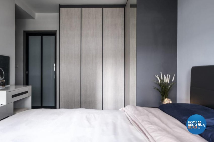 Contemporary, Mediterranean, Modern Design - Bedroom - HDB 5 Room - Design by United Team Lifestyle