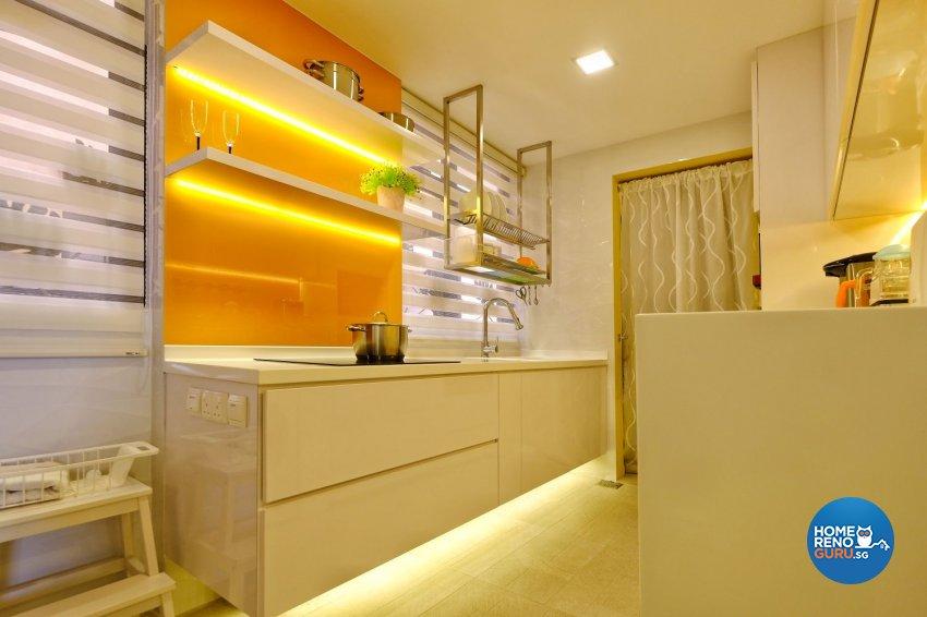 Contemporary, Modern Design - Kitchen - Condominium - Design by United Team Lifestyle