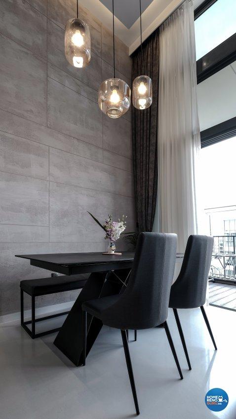 Contemporary, Modern Design - Dining Room - Condominium - Design by United Team Lifestyle