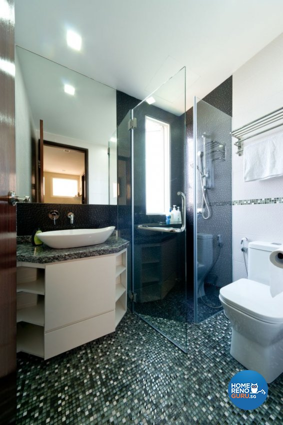 Contemporary, Country, Resort Design - Bathroom - Condominium - Design by Unity Interior design Pte Ltd