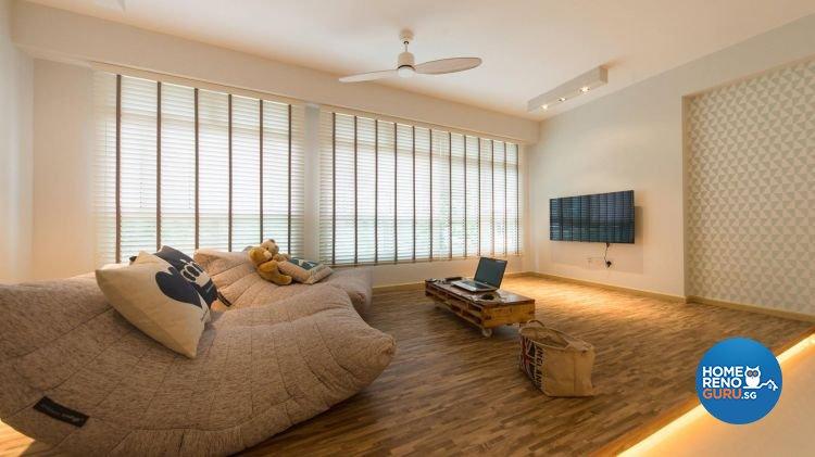 Modern, Scandinavian Design - Living Room - Condominium - Design by Unity Interior design Pte Ltd