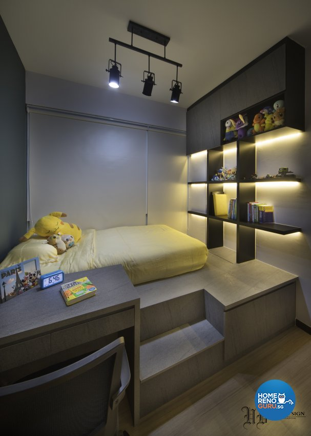 Contemporary Design - Bedroom - Condominium - Design by Urban Design House Pte Ltd