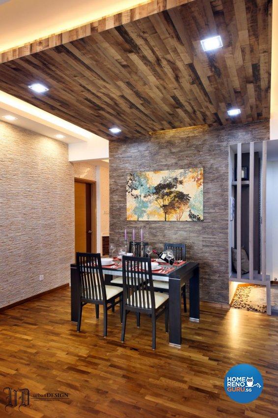 Resort Design - Dining Room - Condominium - Design by Urban Design House Pte Ltd