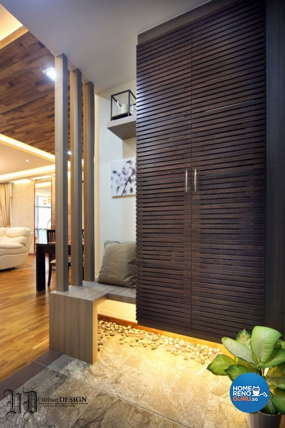 Resort Design - Living Room - Condominium - Design by Urban Design House Pte Ltd