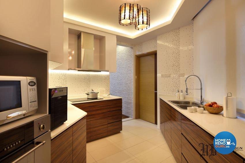 Resort Design - Kitchen - Condominium - Design by Urban Design House Pte Ltd