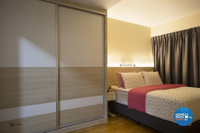 Scandinavian Design - Bedroom - HDB 4 Room - Design by Urban Design House Pte Ltd
