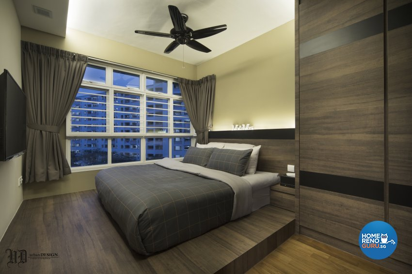 Contemporary, Scandinavian Design - Bedroom - HDB 4 Room - Design by Urban Design House Pte Ltd