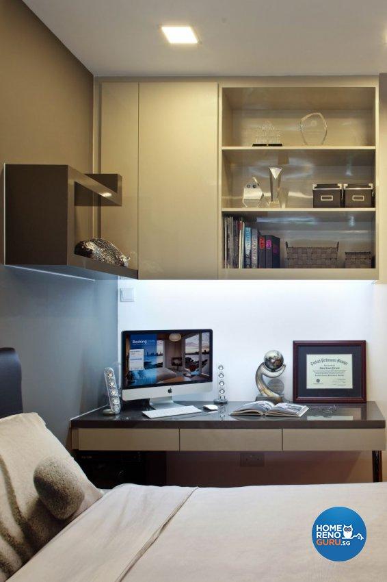 Minimalist, Modern Design - Bedroom - Condominium - Design by Urban Design House Pte Ltd
