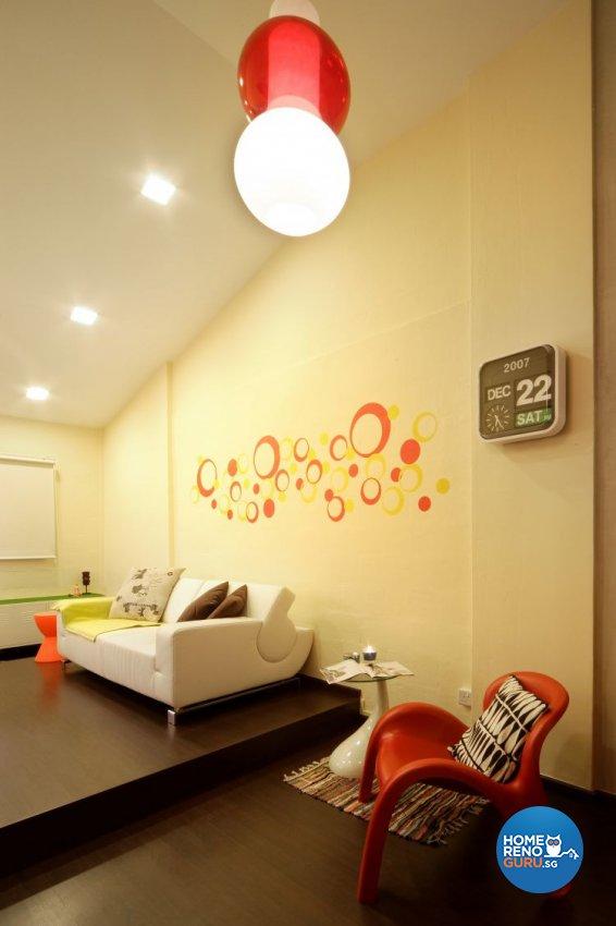 Classical, Contemporary, Retro Design - Living Room - HDB 3 Room - Design by Vegas Interior Design Pte Ltd