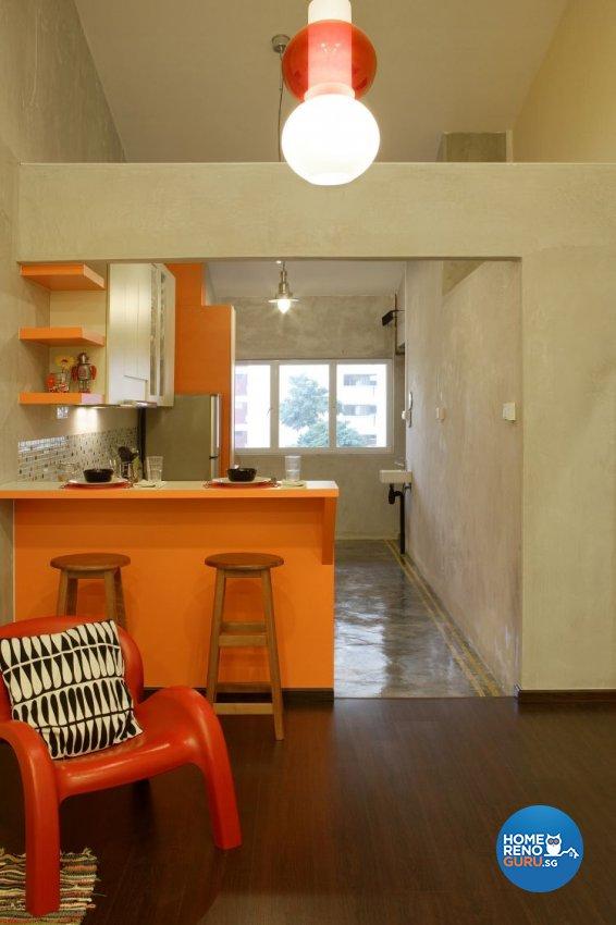 Classical, Contemporary, Retro Design - Dining Room - HDB 3 Room - Design by Vegas Interior Design Pte Ltd