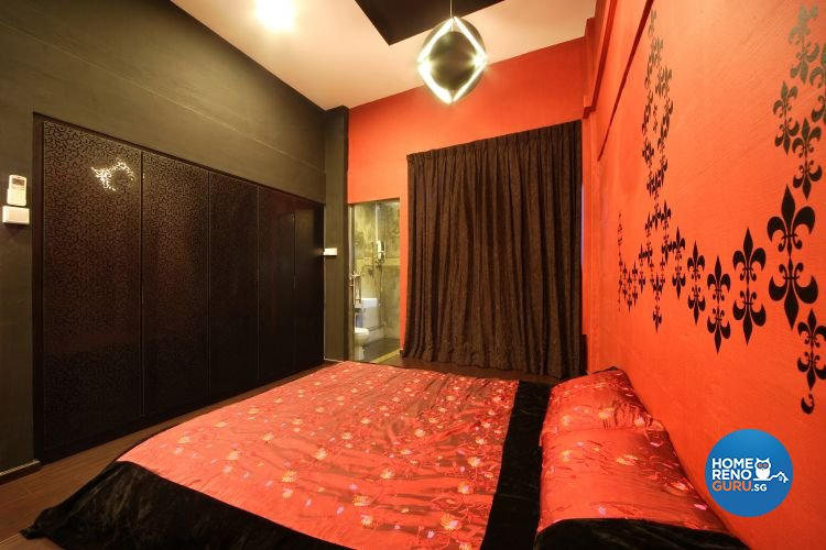 Classical, Contemporary, Retro Design - Bedroom - HDB 3 Room - Design by Vegas Interior Design Pte Ltd
