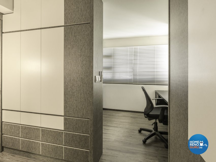 Modern, Resort Design - Bedroom - HDB 4 Room - Design by Vegas Interior Design Pte Ltd
