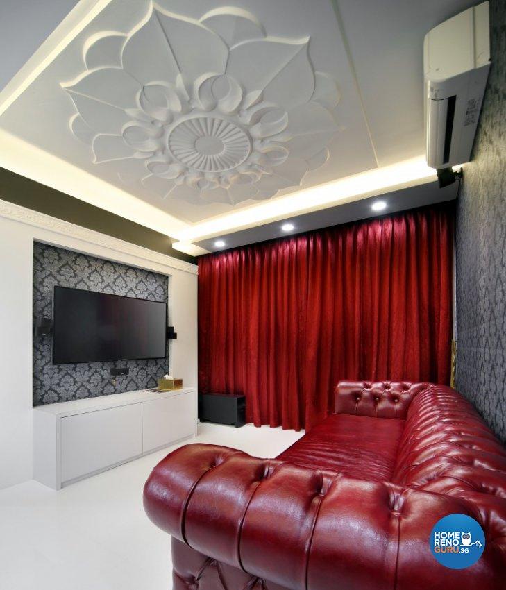Classical, Modern, Victorian Design - Living Room - Condominium - Design by Vegas Interior Design Pte Ltd