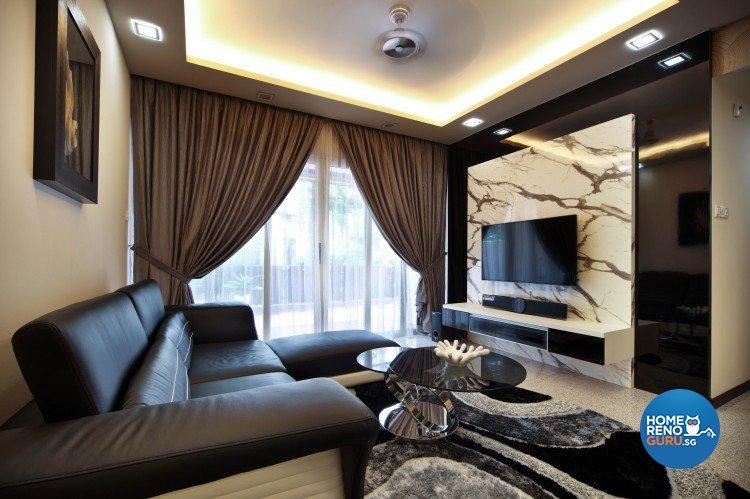 Contemporary, Minimalist, Retro Design - Living Room - Condominium - Design by Vegas Interior Design Pte Ltd