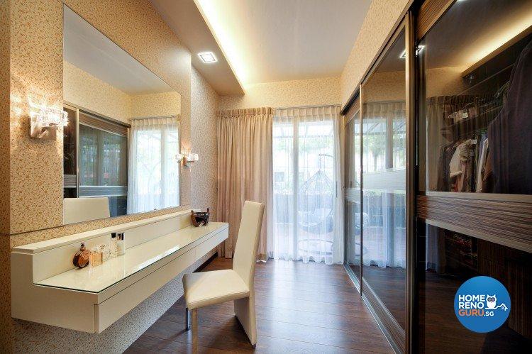 Contemporary, Minimalist, Retro Design - Bedroom - Condominium - Design by Vegas Interior Design Pte Ltd