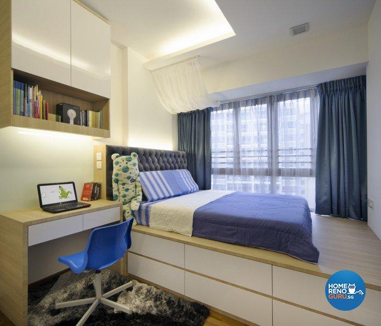 Contemporary, Modern Design - Bedroom - Condominium - Design by Vegas Interior Design Pte Ltd