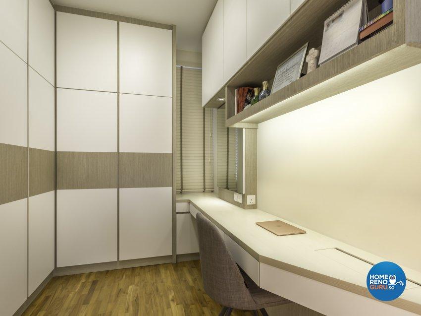 Modern Design - Study Room - Condominium - Design by Vegas Interior Design Pte Ltd