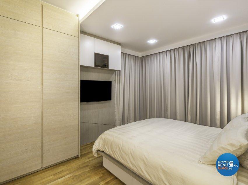 Modern Design - Bedroom - Condominium - Design by Vegas Interior Design Pte Ltd