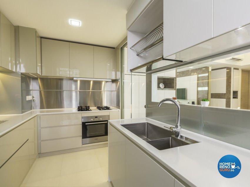 Modern Design - Kitchen - Condominium - Design by Vegas Interior Design Pte Ltd