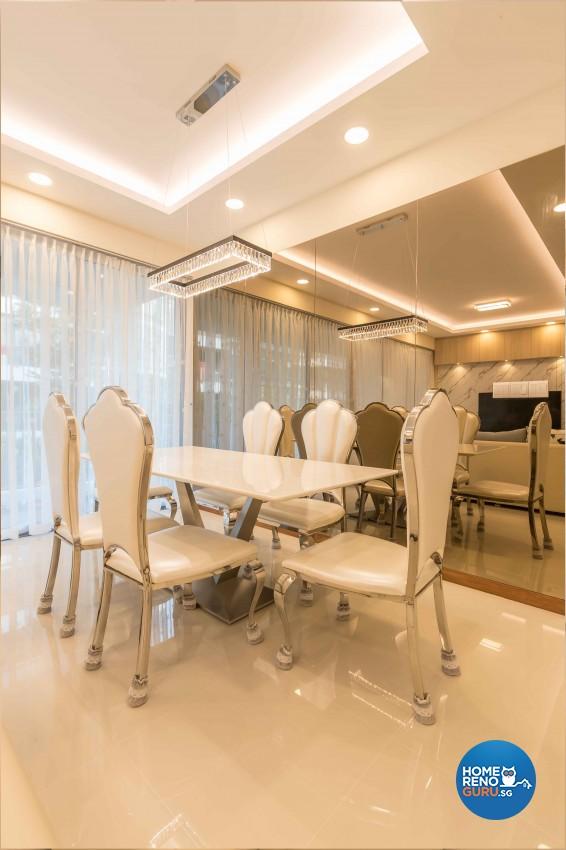 Scandinavian Design - Dining Room - Condominium - Design by Vegas Interior Design Pte Ltd