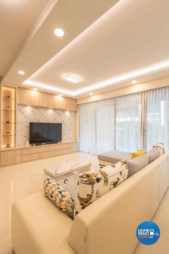 Scandinavian Design - Living Room - Condominium - Design by Vegas Interior Design Pte Ltd