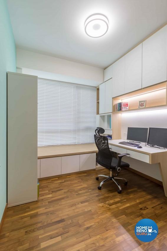 Condominium Study Room: Vegas Interior Design Pte Ltd Condo 5013