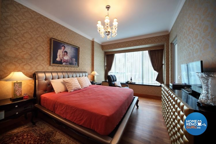 Classical, Modern, Vintage Design - Bedroom - Condominium - Design by Vegas Interior Design Pte Ltd