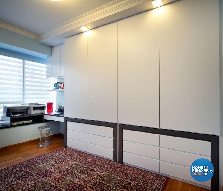 Classical, Modern, Vintage Design - Study Room - Condominium - Design by Vegas Interior Design Pte Ltd