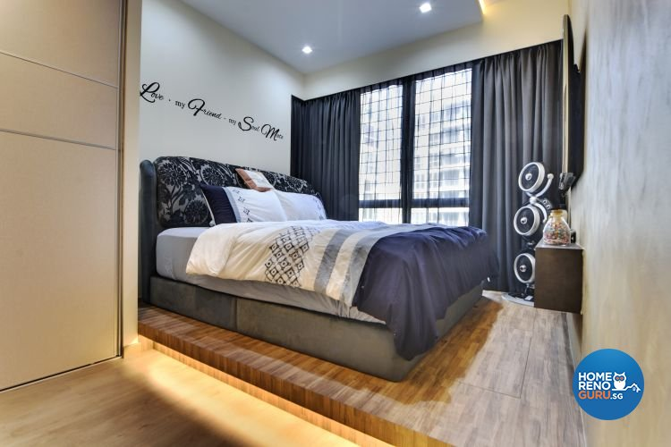 Contemporary, Modern Design - Bedroom - Condominium - Design by Vegas Interior Design Pte Ltd