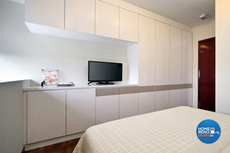 Contemporary, Minimalist Design - Bedroom - Condominium - Design by Vegas Interior Design Pte Ltd